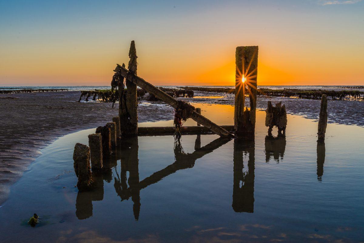 Le Havre de la Vanlee im Sonnenuntergang