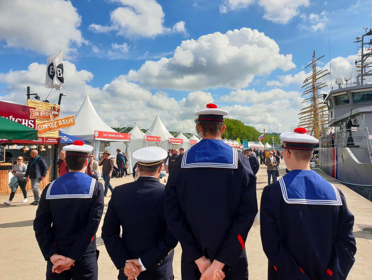 Marins à l'Armada de Rouen