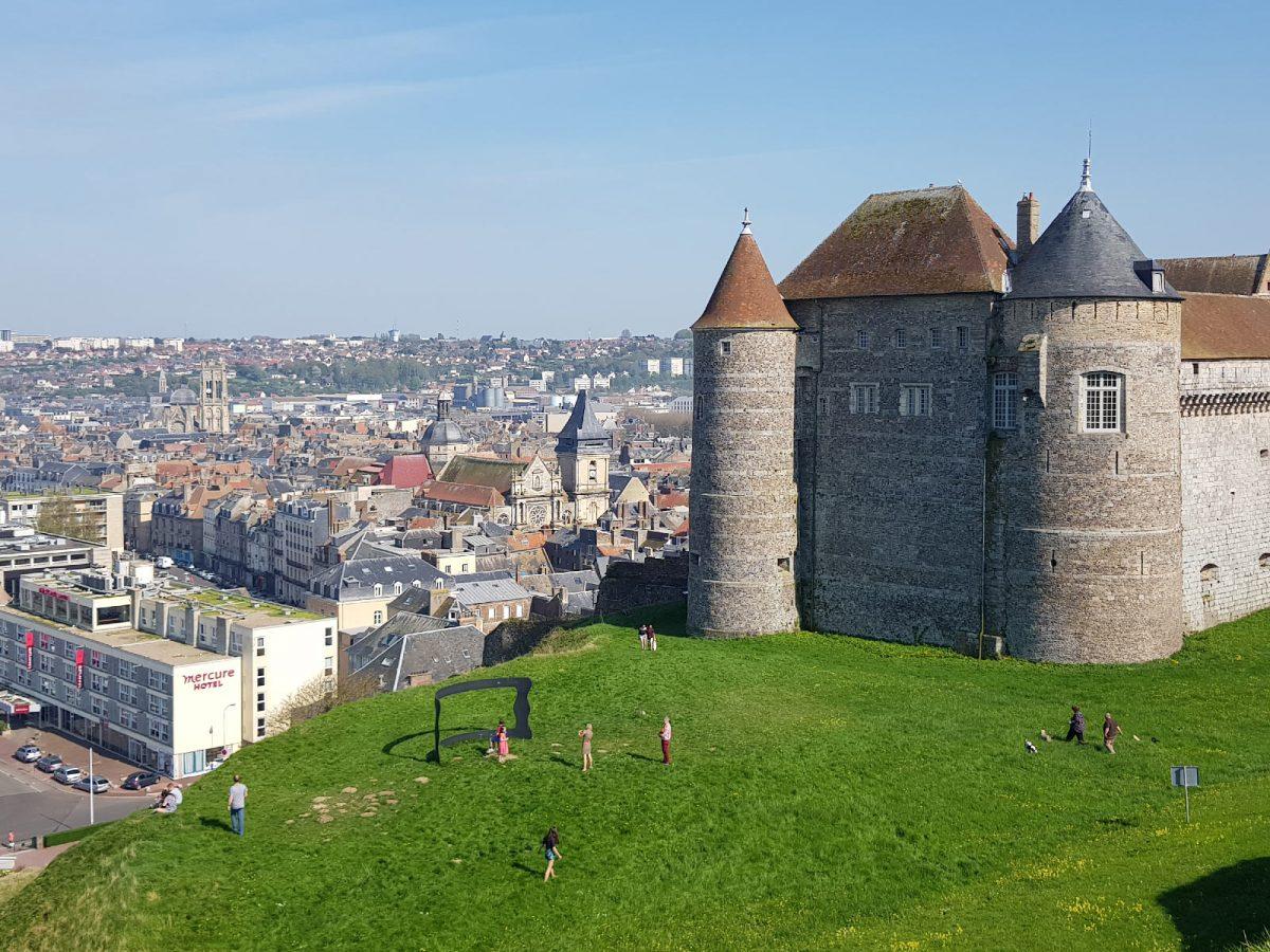 Das Château von Dieppe