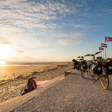 Die Normandie mit dem Fahrrad entdecken