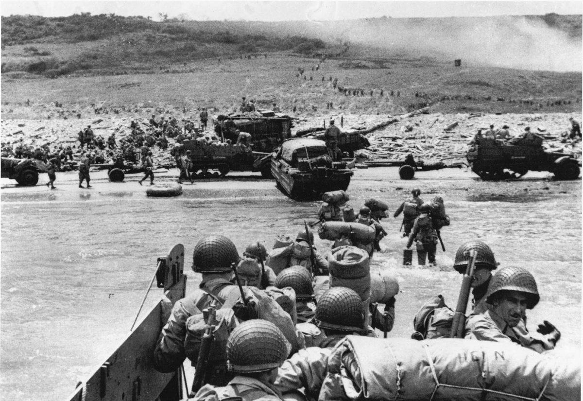 Landung Omaha Beach - Archive D-Day