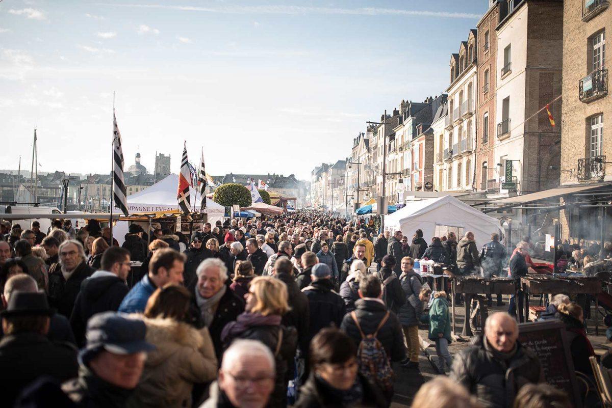 Herings- und Jakobsmuschelfest in Dieppe