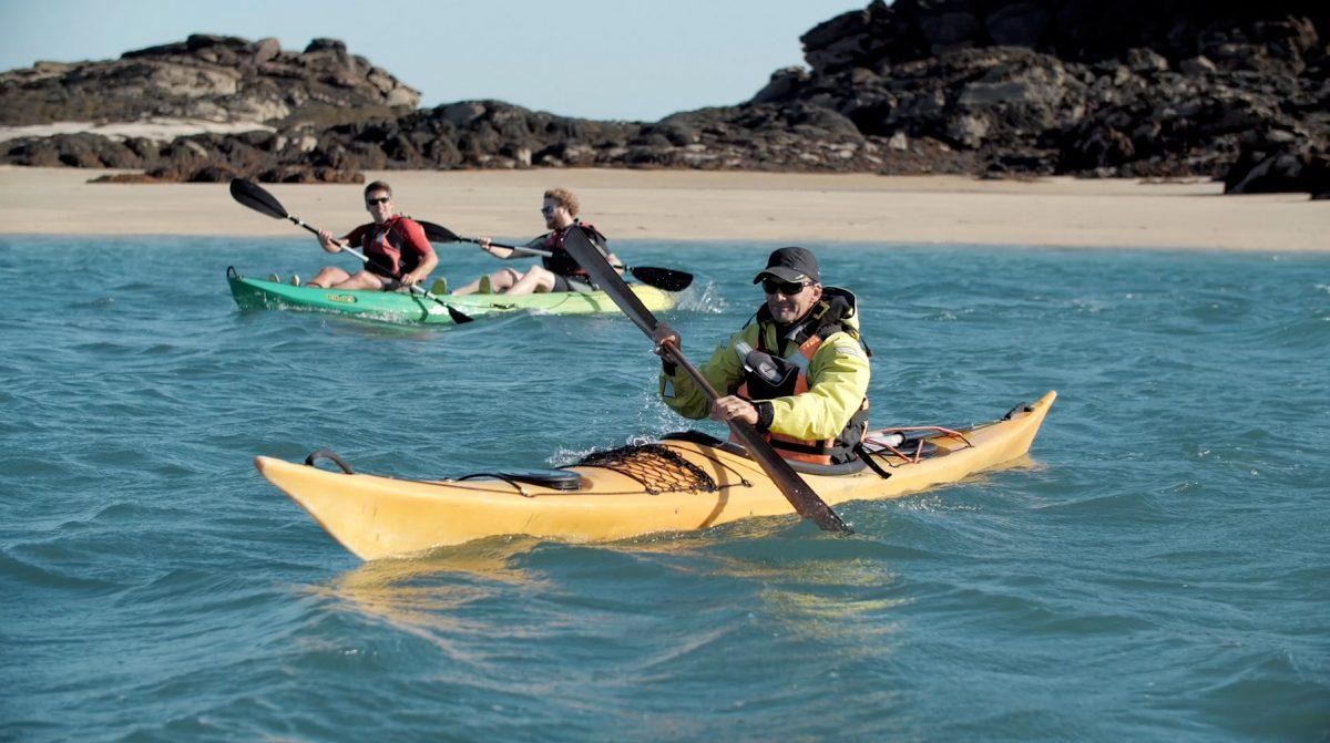 Normannisches Erlebnis - Kajak auf den Chausey-Inseln vor der Küste von Granville