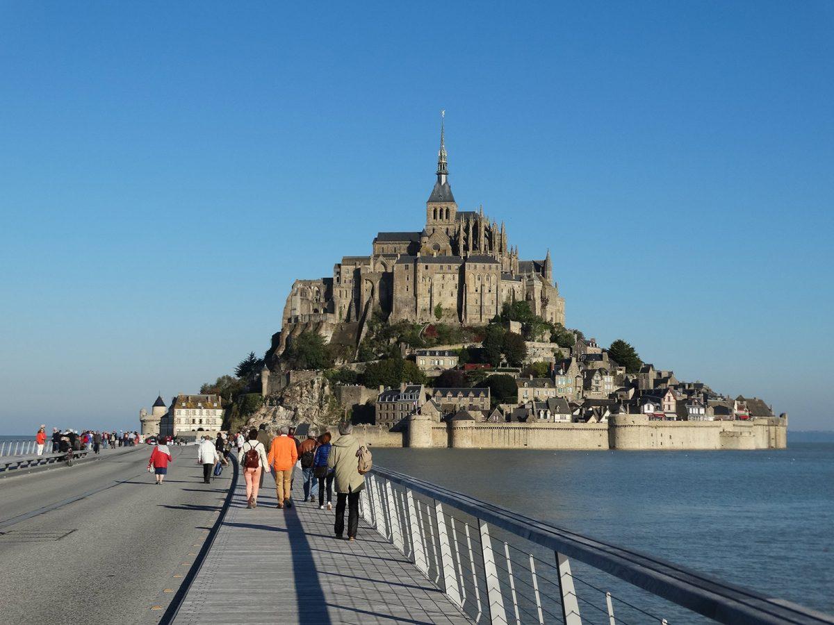 Le Mont-Saint-Michel accès