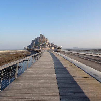 Anreise und Parken am Mont Saint-Michel