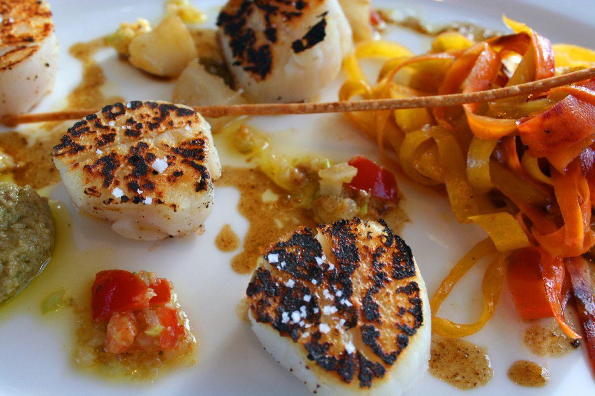 Jakobsmuschel - Gastronomie der Normandie