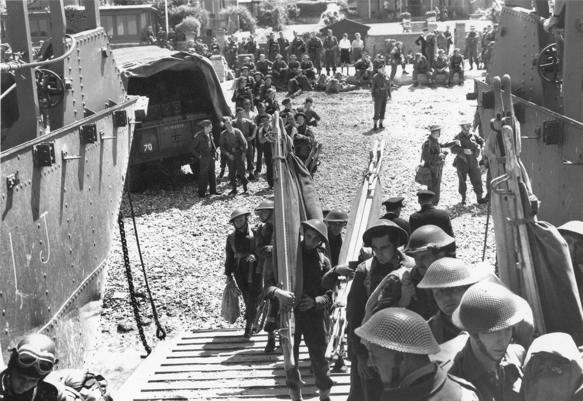 Préparation du raid sur Dieppe - Archives D-Day