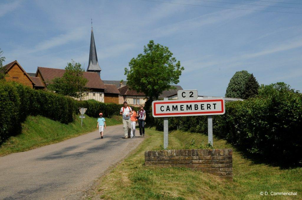 Wanderung in Camembert