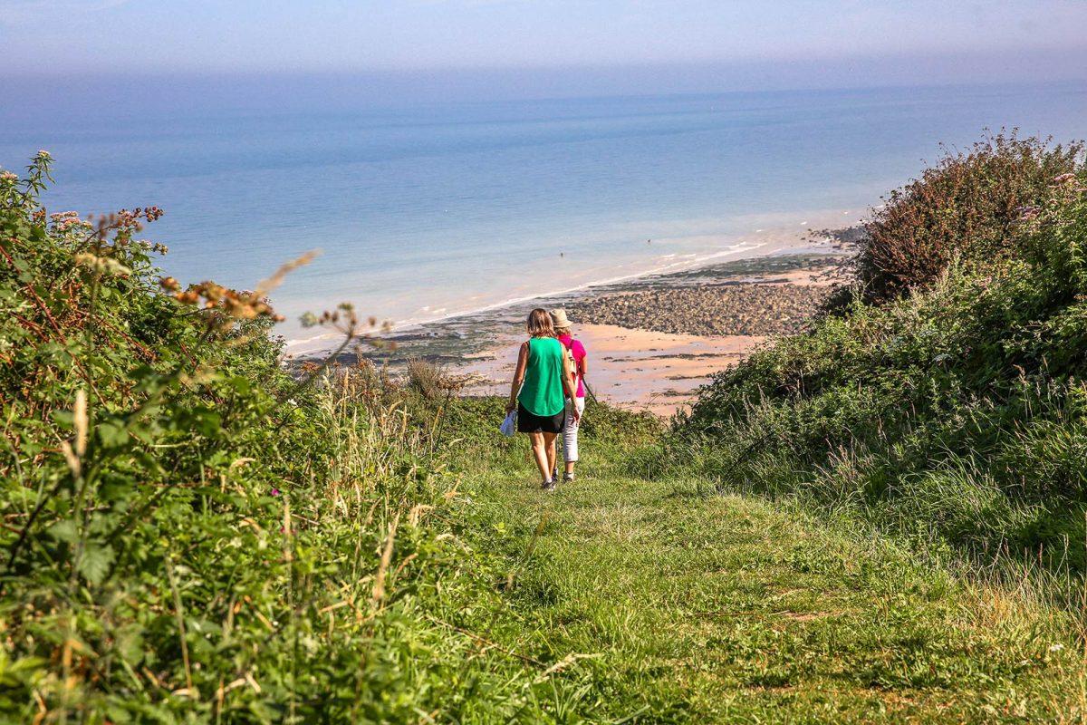 Wandern auf dem GR21 an der Alabasterküste