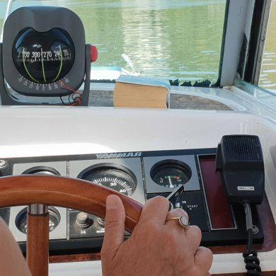Ausflüge auf dem Boot oder Segelschiff