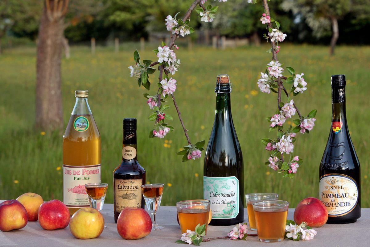 Normannische Apfelprodukte