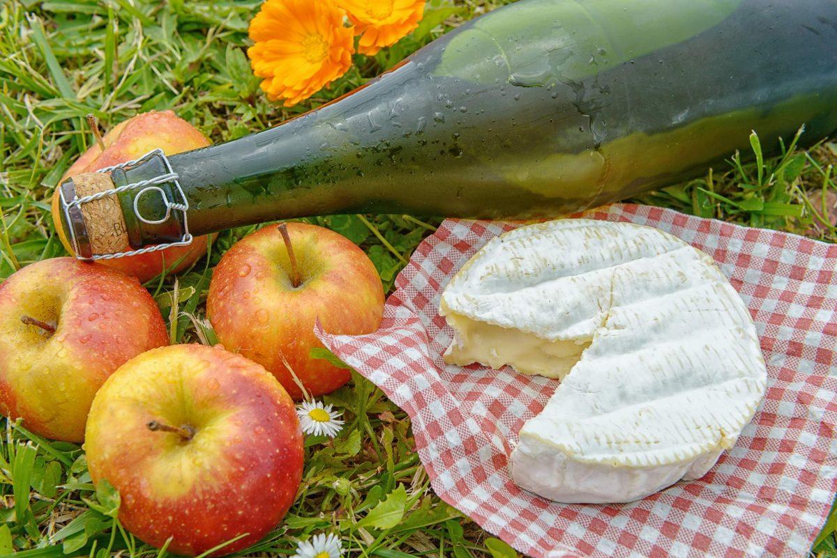 Normannischer Camembert mit Cidre