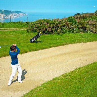 Golf  lernen in der Normandie