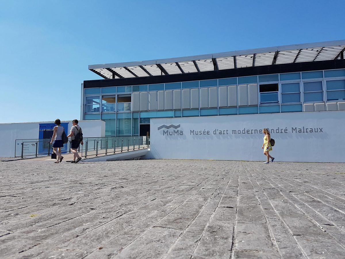 Das Museum für Moderne Kunst (MuMa) in Le Havre