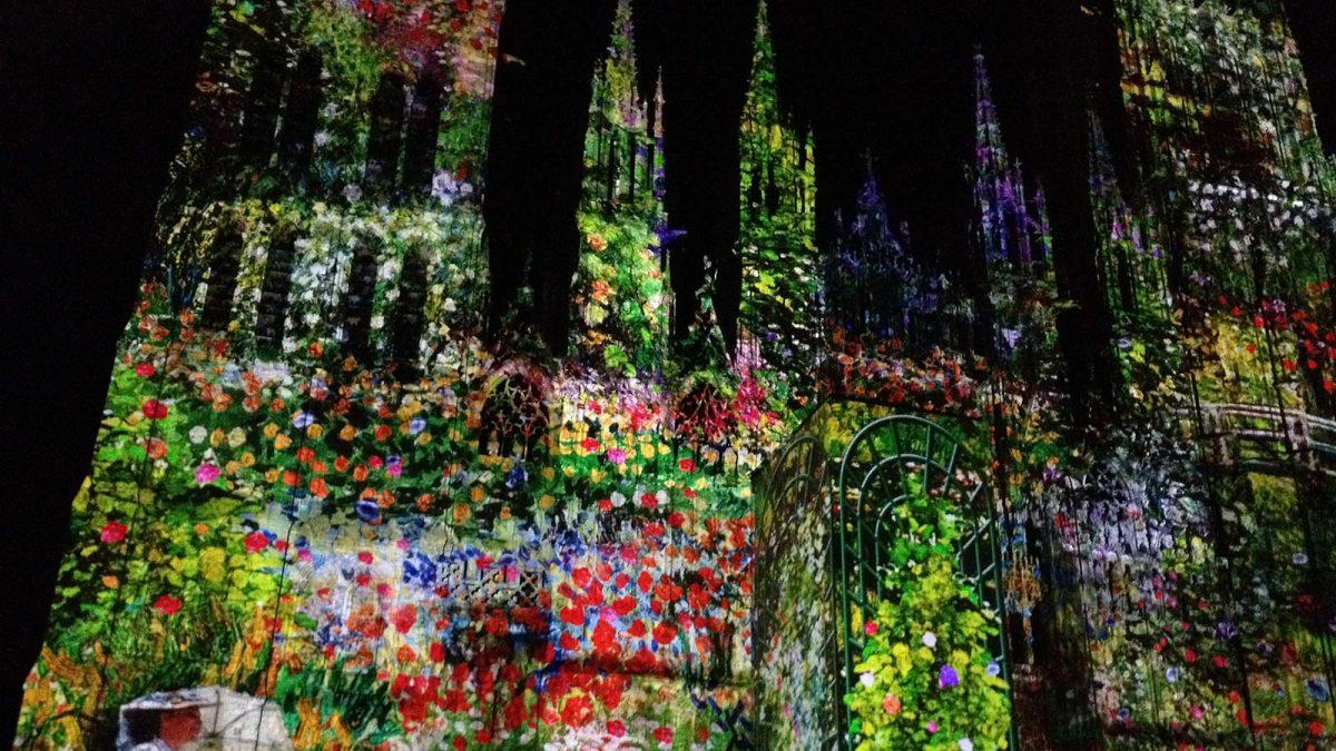 Son et lumière sur la cathédrale de Rouen