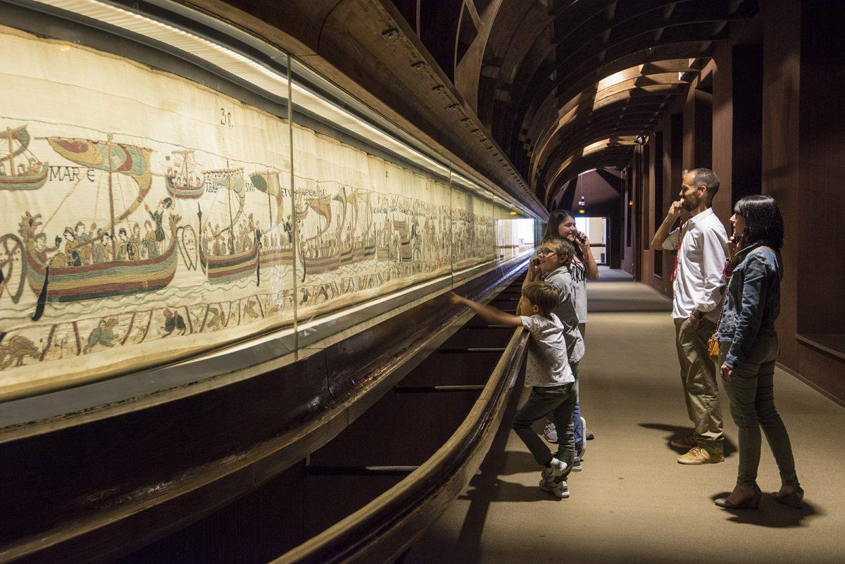 Wandteppich von Bayeux mit Kindern entdecken
