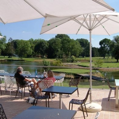 Auswahl an Golf-Restaurants in der Normandie