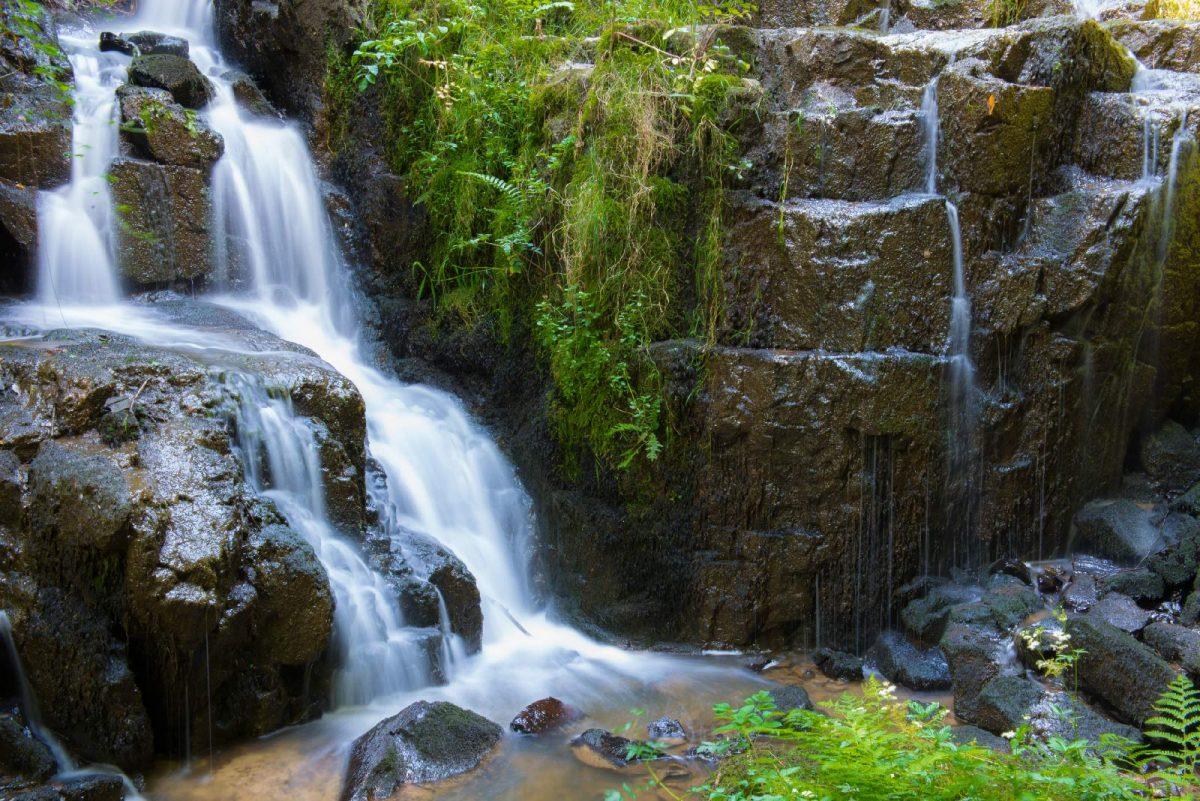 Die Wasserfälle von Mortain
