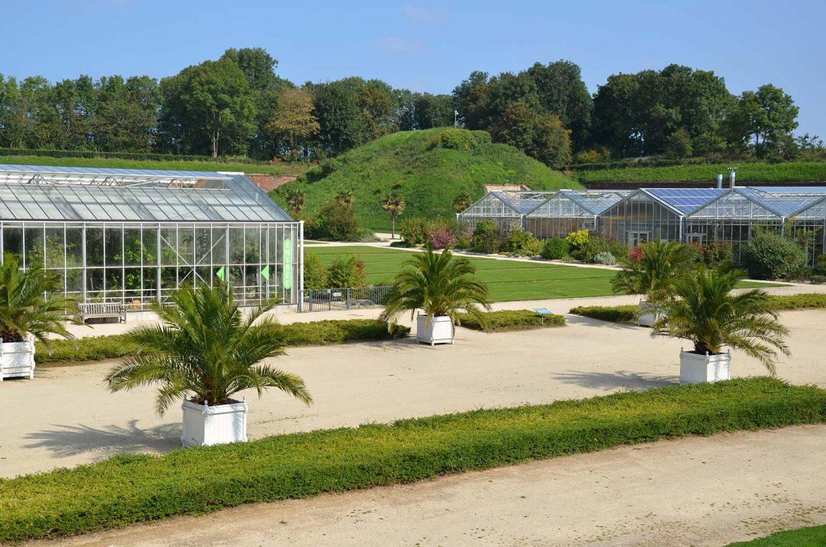 """Die """"hängenden Gärten"""" von Le Havre über der Stadt"""