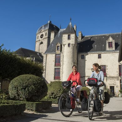 Auf der Véloscénie mit dem Fahrrad von Paris zum Mont Saint-Michel