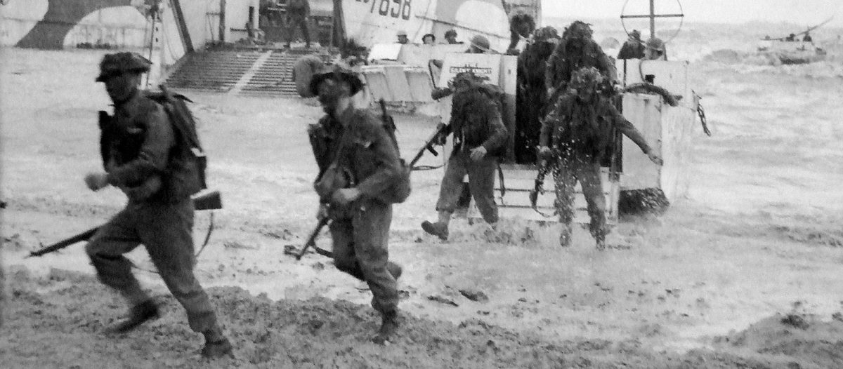 Landung der Alliierten am Gold Beach - Archives D-Day