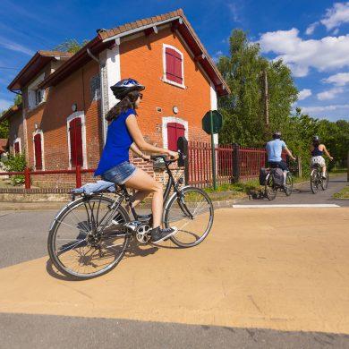 Auf der Avenue Verte mit dem Fahrrad durch die Normandie
