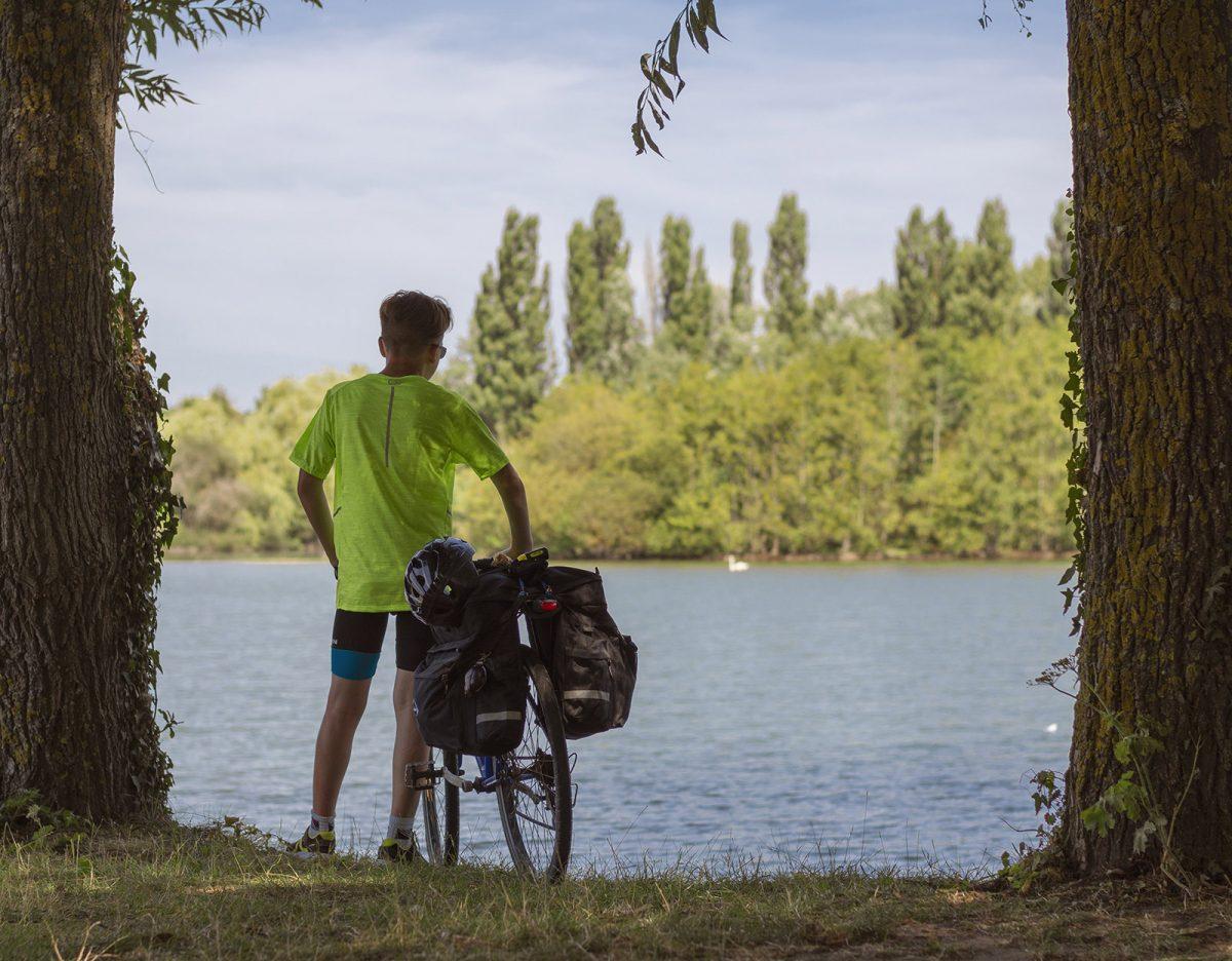 Avenue verte London Paris camping am Campingplatz L'Aulnaie
