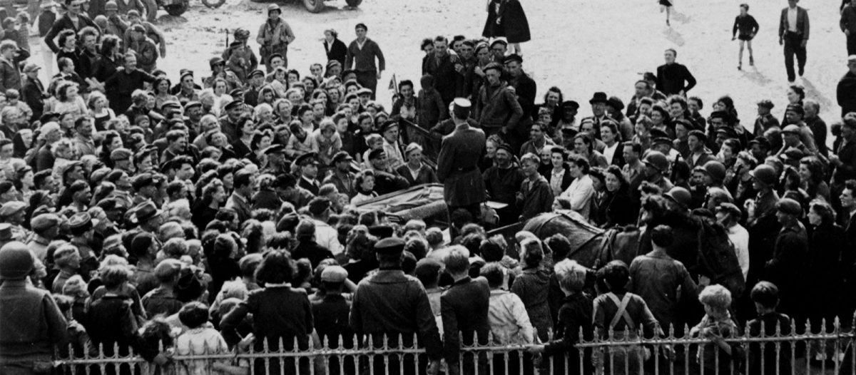 Landung der Alliierten in der Normandie: Befreiung von Bayeux - D-Day Archive