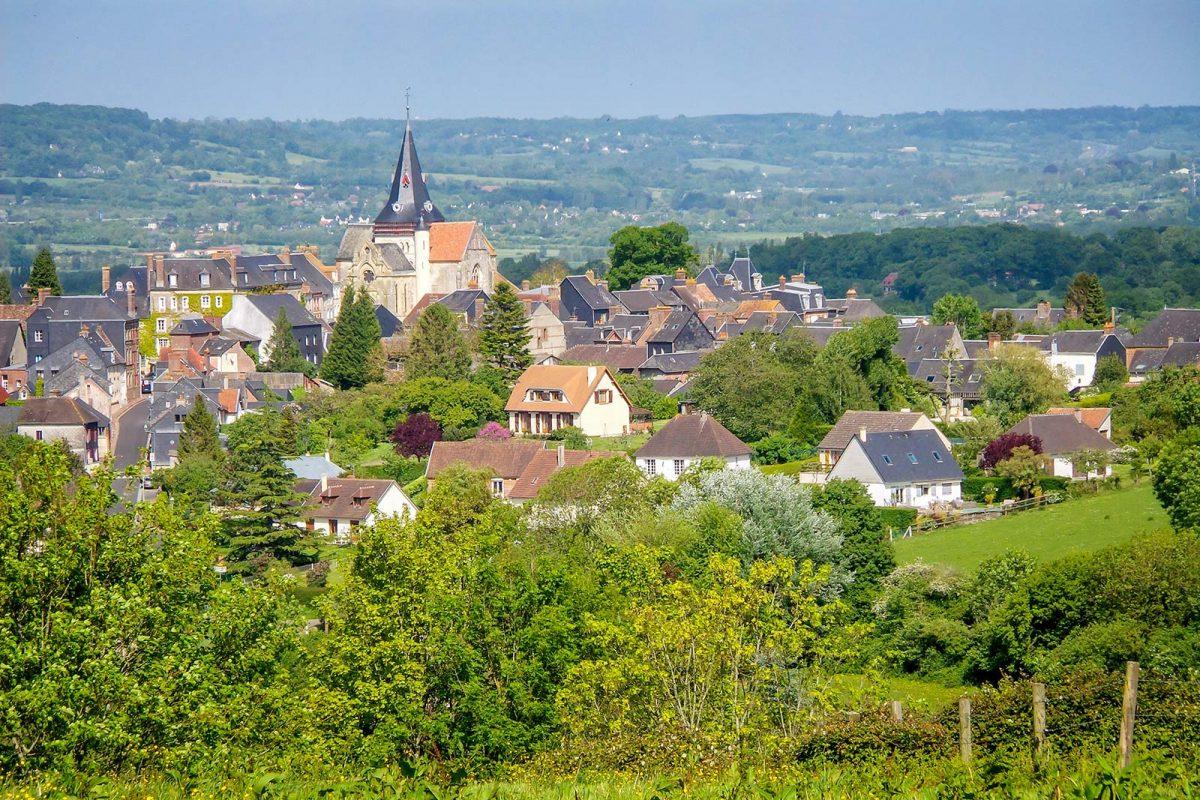 Beuvron-en-Auge, eines der schönsten Dörfer Frankreichs