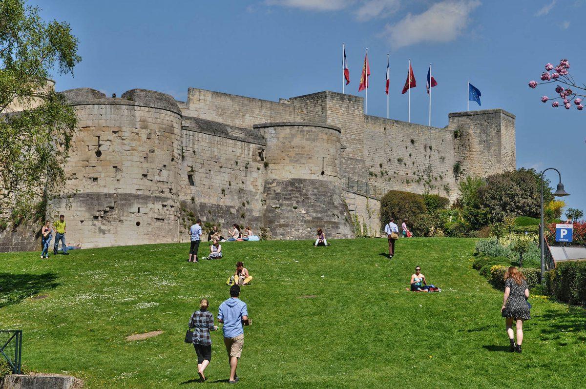 Château de Guillaume-le-Conquérant à Caen