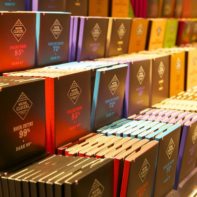 Das Schokoladenmuseum Cluizel in der Normandie