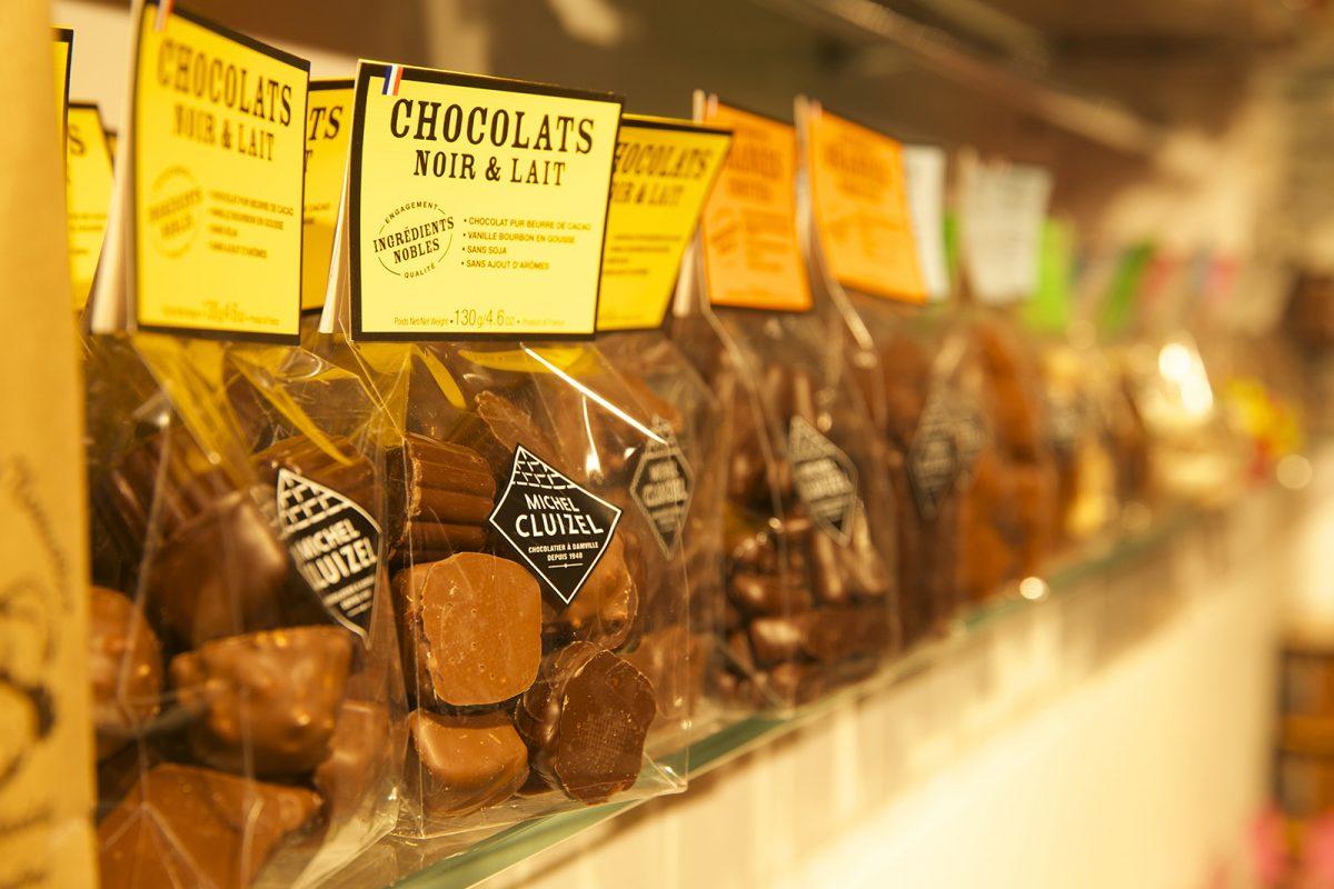 Chocolats de la chocolaterie Cluizel