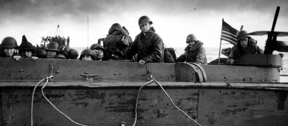 Landung am Omaha Beach - Archives D-Day