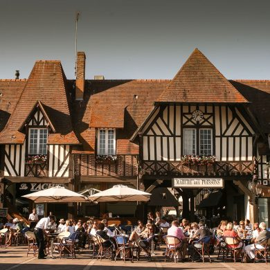 Restaurants in Deauville