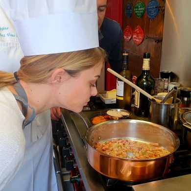 Kochkurs mit Régine: Küchenzauber wie bei Claude Monet