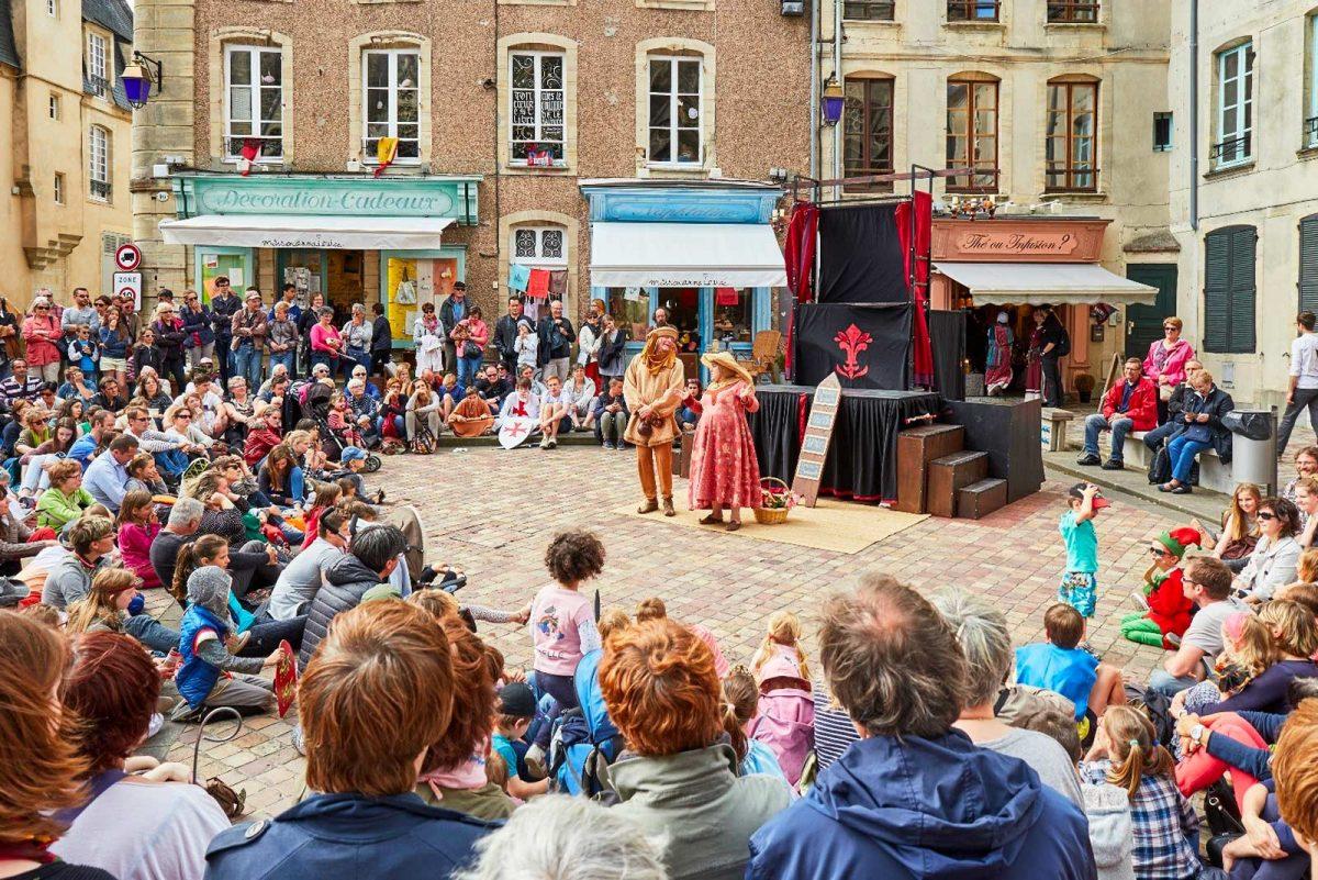 Spektakel Mittelalterfest Bayeux