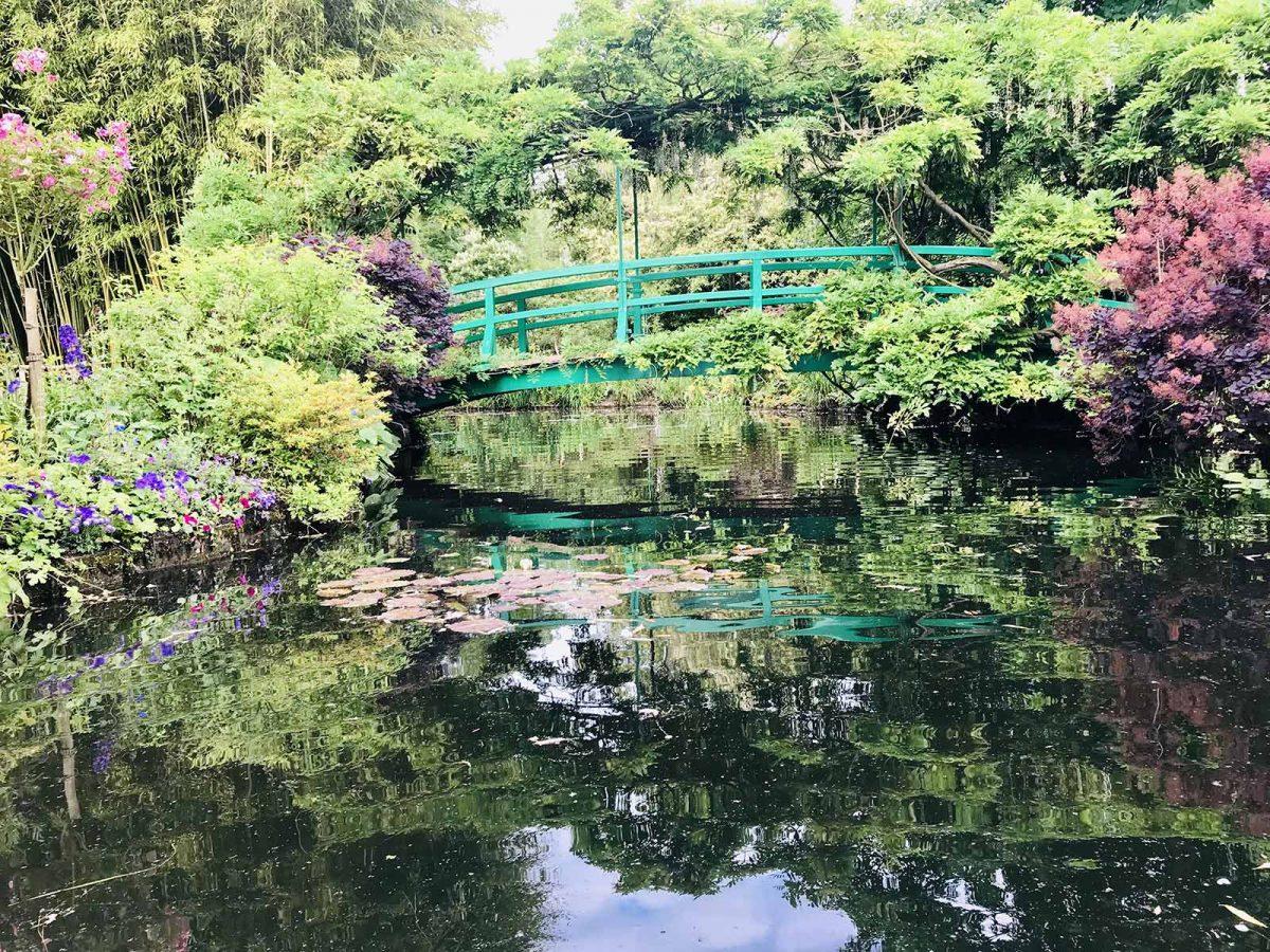 Die japanische Brücke in Giverny