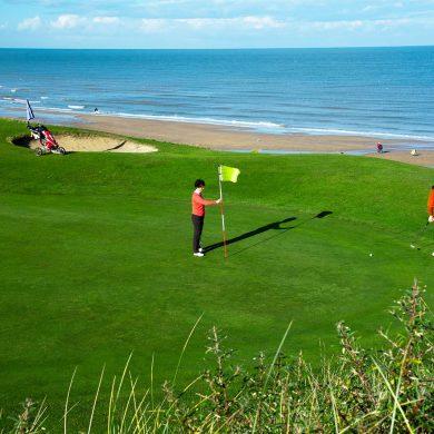 Kurzfilm: die Golfplätze der Normandie