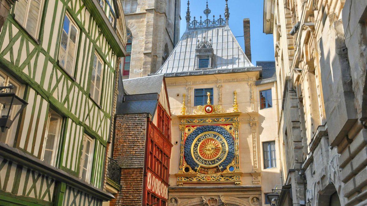 Astronomische Uhr in Rouen