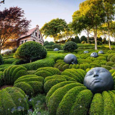 Gartenkunst und Künstlergärten der Normandie