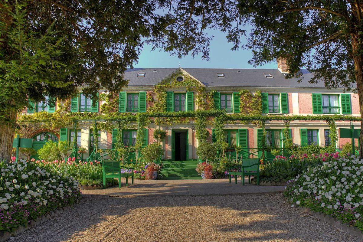 Haus und Garten von Claude Monet in Giverny