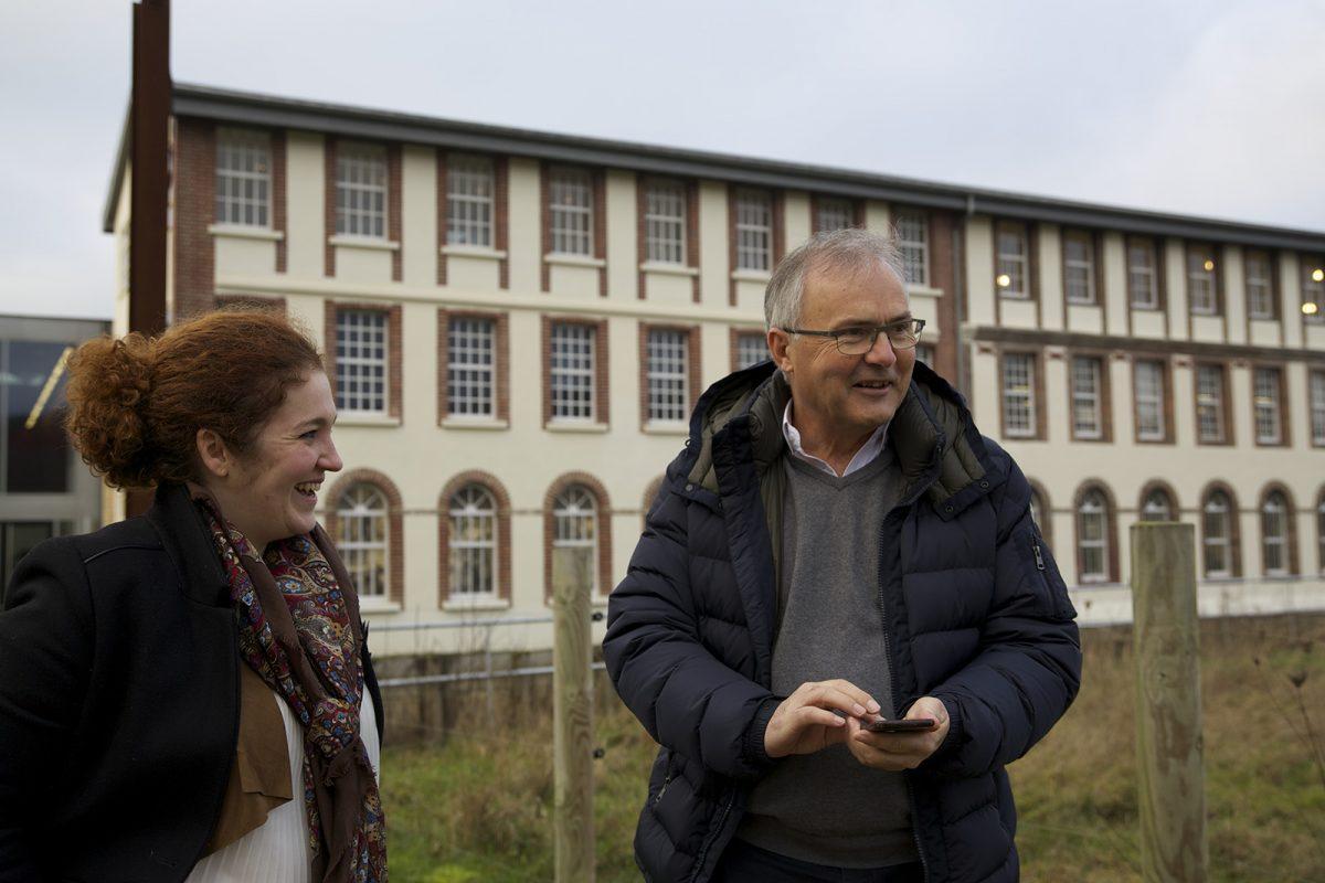 Audrey Reigner und Didier Vrack von der Stecknadelmanufaktur Bohin