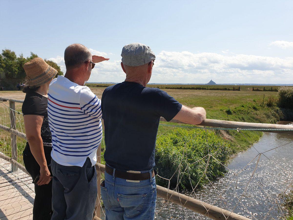 Echt normannisches Erlebnis: Achtsamkeit und achtsames Gehen in der Bucht des Mont Saint-Michel