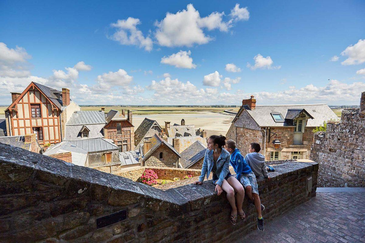 Den Mont Saint-Michel mit Kindern entdecken