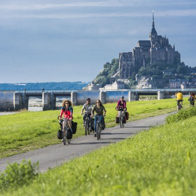 Fernradwege der Normandie