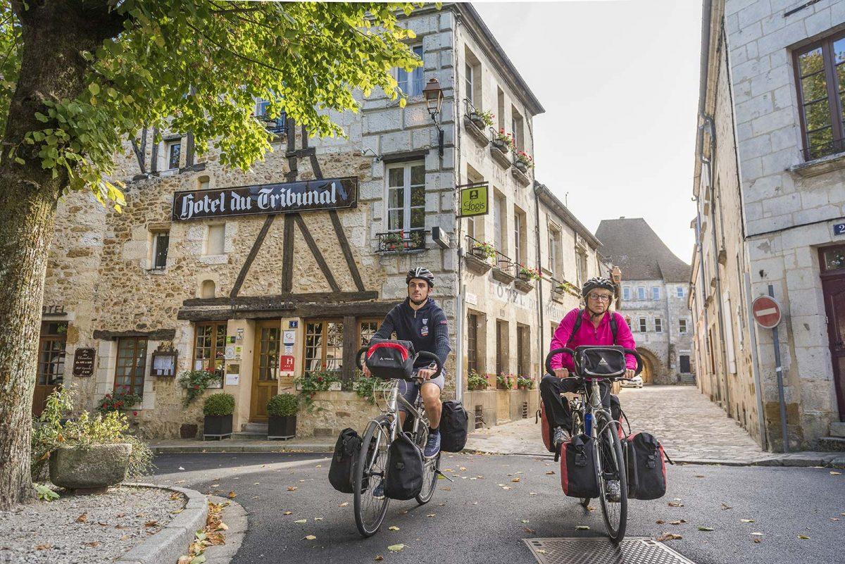 Mortagne-au-Perche am Fernradweg Véloscénie
