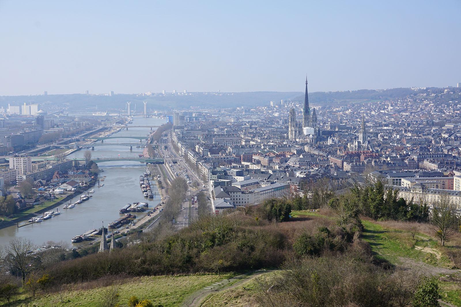 Colline Sainte-Catherine à Rouen