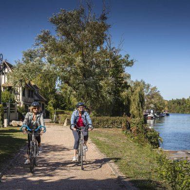 Radfahren von Paris bis ans Meer auf der Seine à vélo