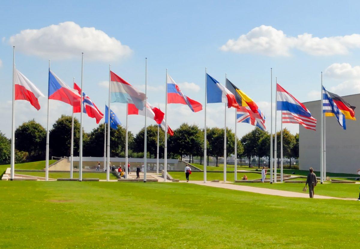 Das Museum Memorial von Caen