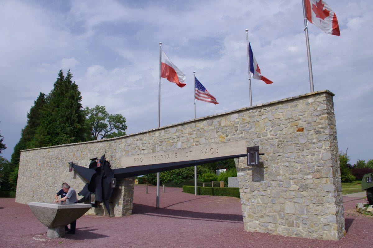Das Museum Memorial von Montormel